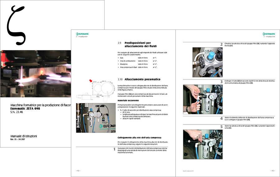 Impaginazione automatica manuale di istruzioni