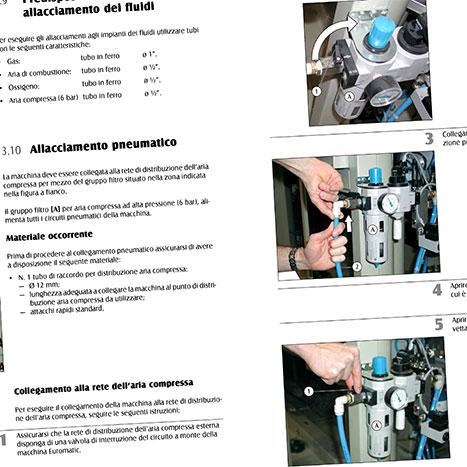 Creazione manuale di istruzioni
