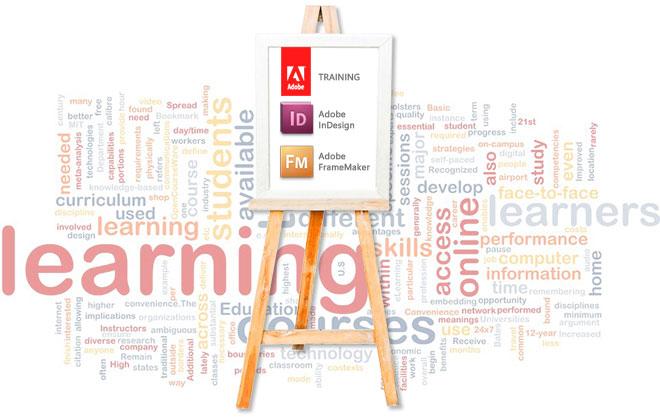 Corsi di formazione per Adobe InDesign e Adobe FrameMaker