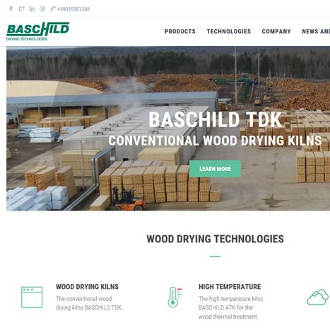 Sito web Baschild