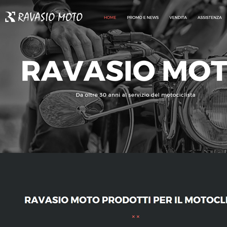 Sito web Ravasio Moto