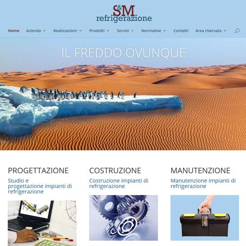 Sito web SM Refrigerazione